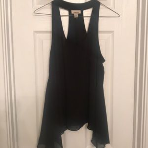Tops - Flowy Black Summer Top